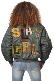 Gypsetters Bomber Slay Girl - Front cropped