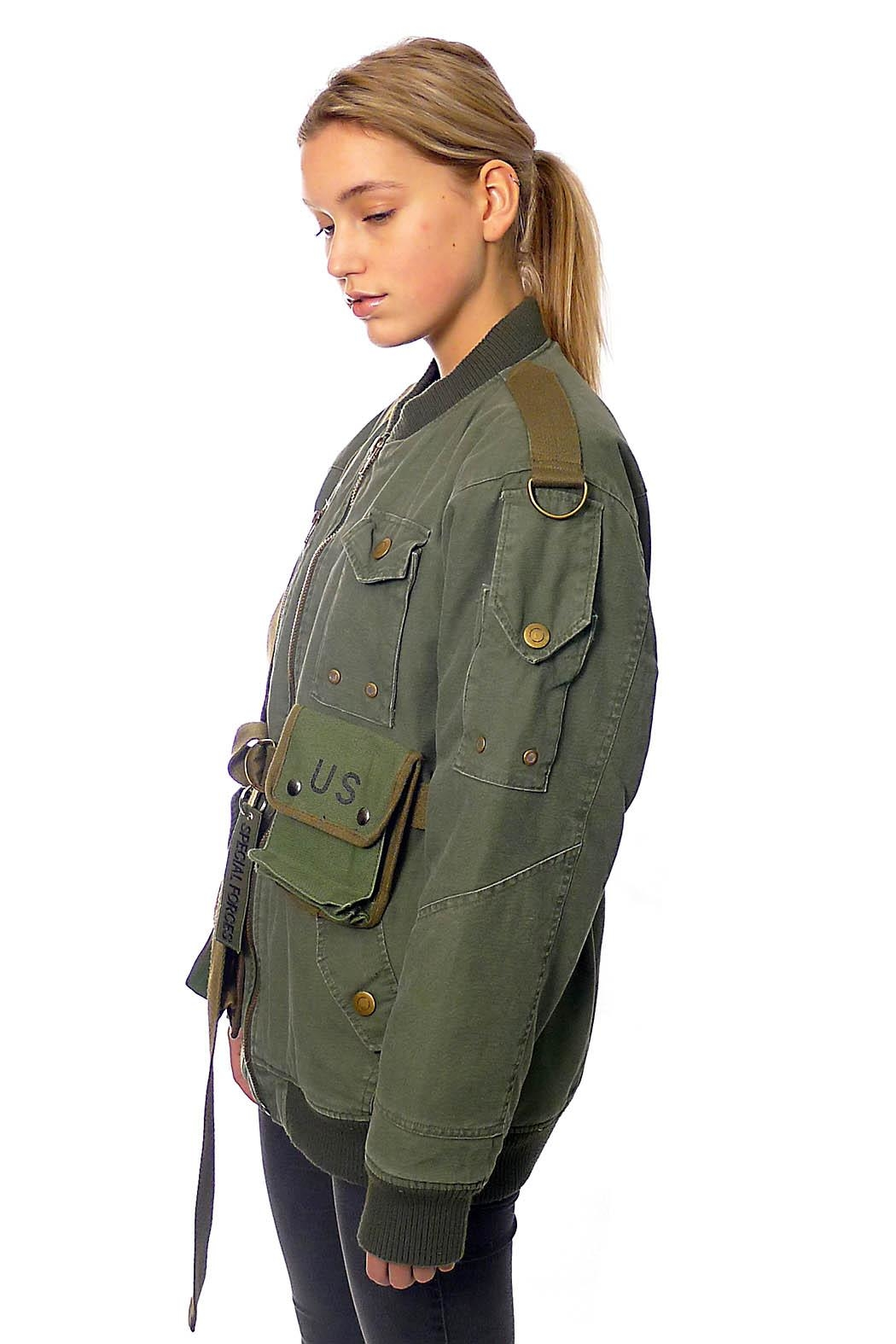 Gypsetters Bomber Strapped Up - Front Full Image