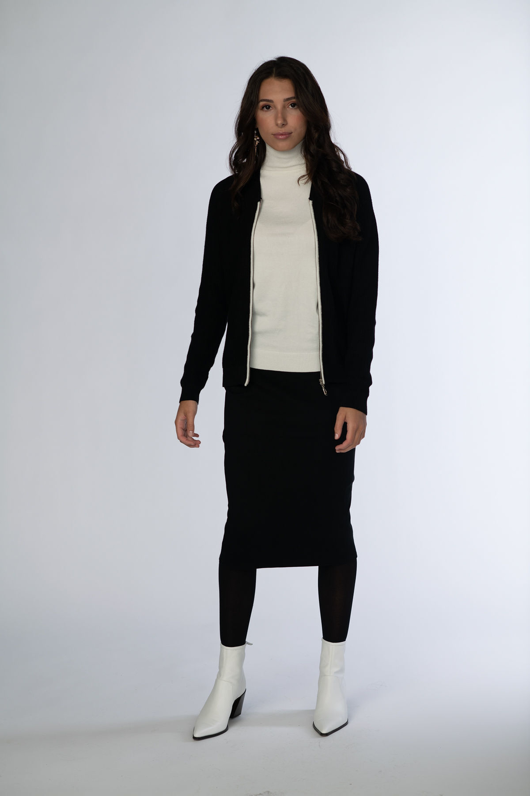 Meli by FAME Bomber Zip Top - Main Image
