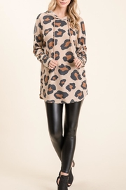 bombom Animal Hooded Top - Front cropped