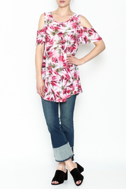 bombom Pink Feather Tunic - Side cropped