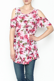 bombom Pink Feather Tunic - Product Mini Image