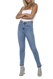 Neon Blonde Bombshell Jeans - Product Mini Image