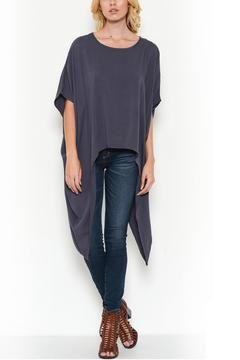 Bonded Draped Blouse - Product List Image