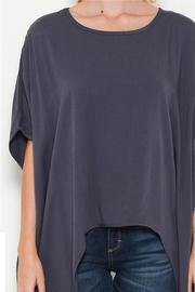 Bonded Draped Blouse - Other