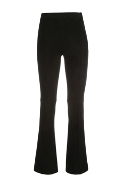 Adam Lippes Bonded Neoprene Cropped Flare Pant - Alternate List Image