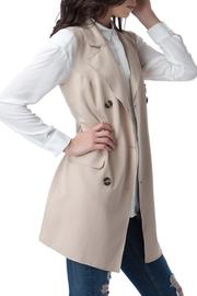 Bonded Trench Vest - Side cropped