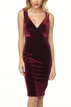 Shoptiques Product: Velvet Cocktail Dress