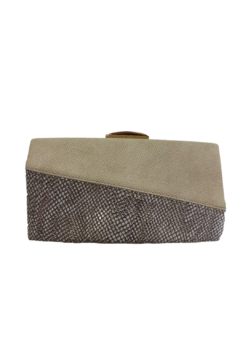 Sondra Roberts Bone clutch with snake - Product List Image
