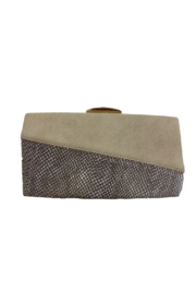Sondra Roberts Bone clutch with snake - Product Mini Image