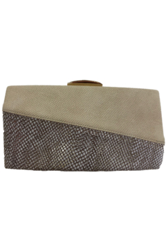 Sondra Roberts Bone clutch with snake - Alternate List Image