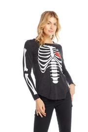 Chaser Bones Jersey Long Sleeve - Front cropped