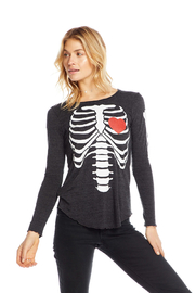 Chaser Bones Jersey Long Sleeve - Side cropped