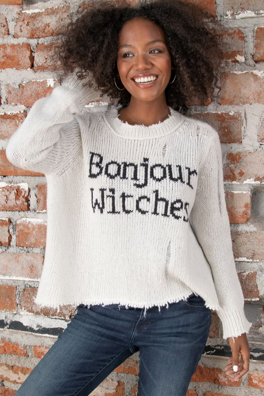 Wooden Ships Bonjour Witches Mirage/Black - Front Full Image