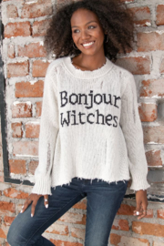 Wooden Ships Bonjour Witches Mirage/Black - Front cropped
