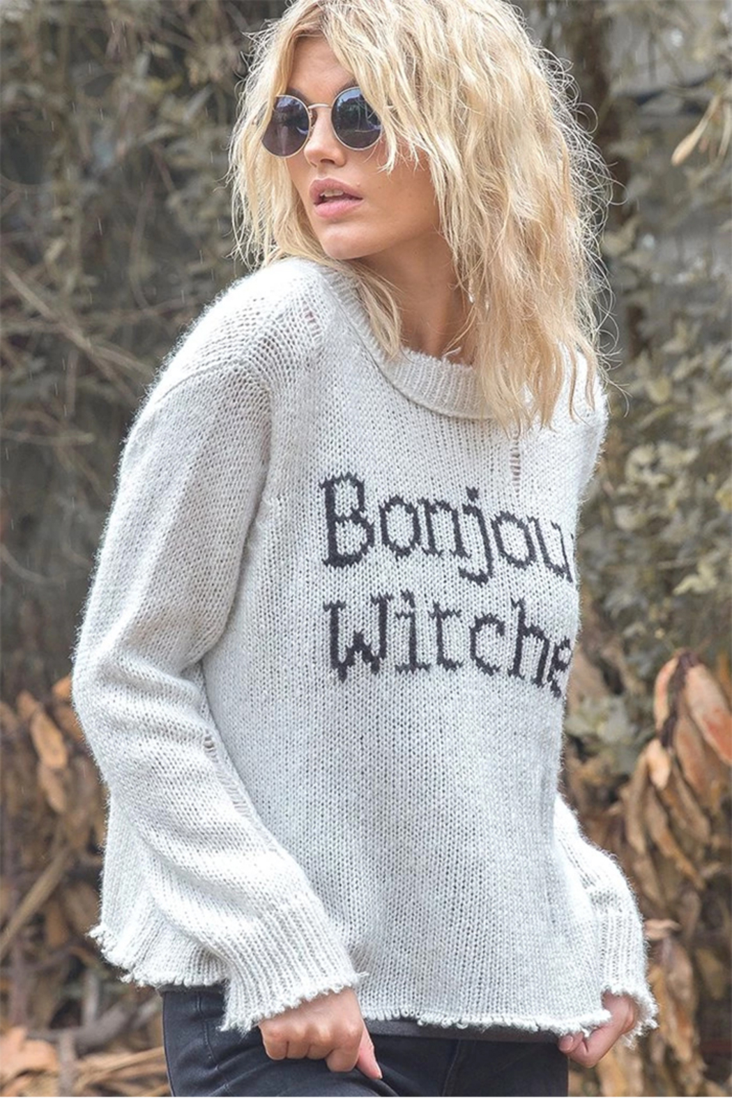 Wooden Ships Bonjour Witches Pullover - Side Cropped Image