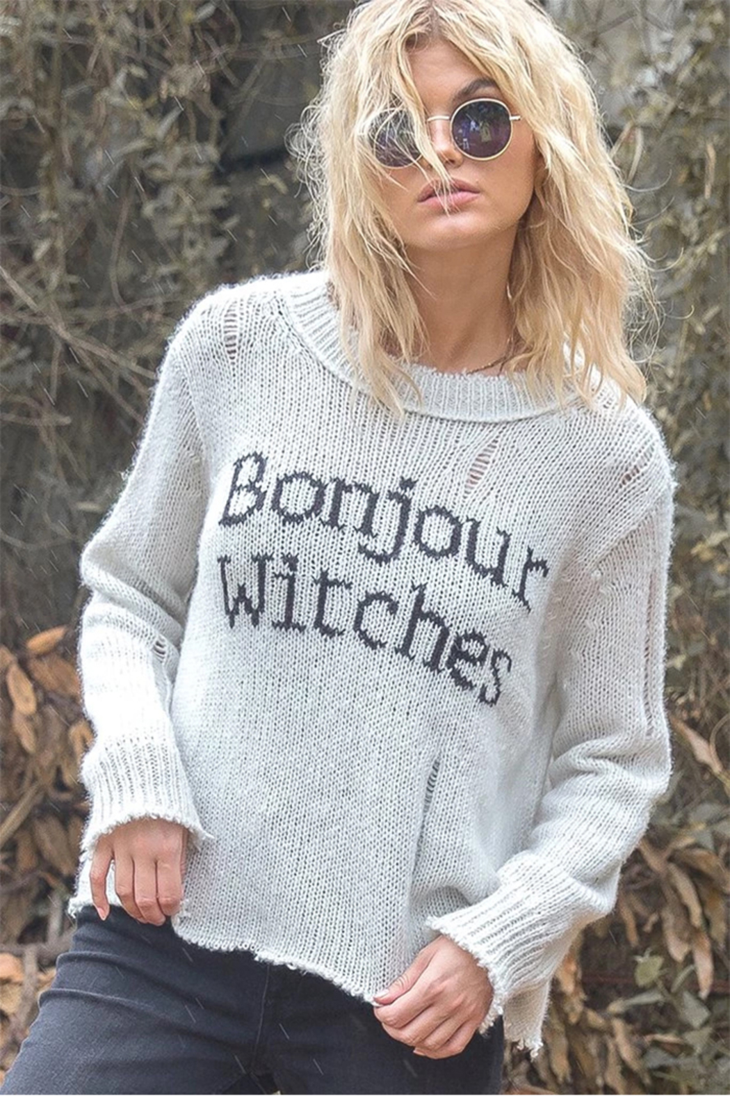 Wooden Ships Bonjour Witches Pullover - Front Full Image