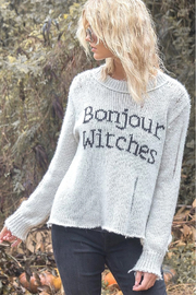 Wooden Ships Bonjour Witches Pullover - Front cropped