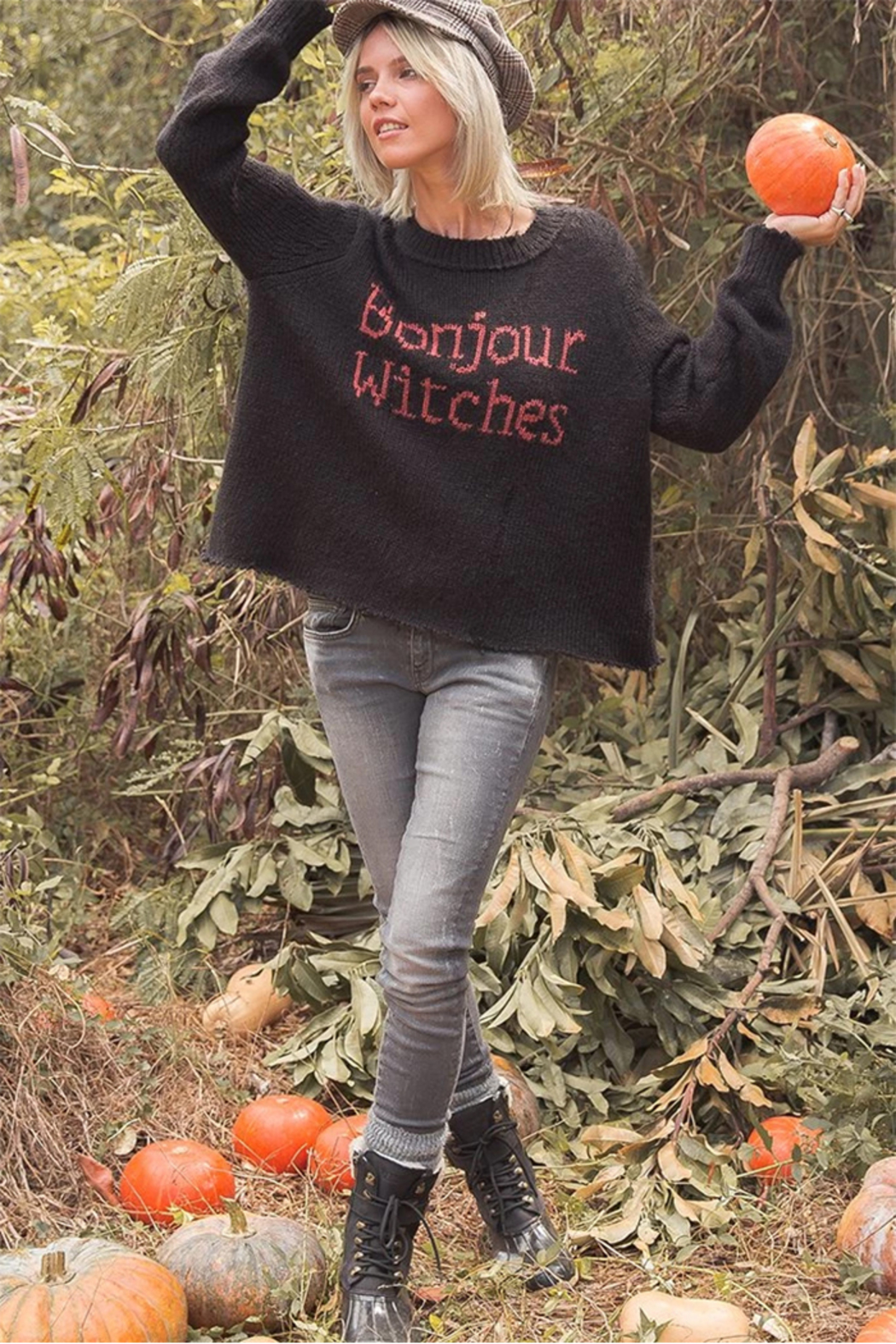 Wooden Ships Bonjour Witches Pullover - Front Cropped Image
