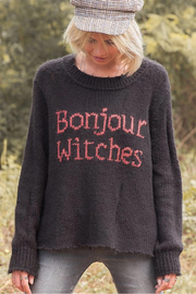 Wooden Ships Bonjour Witches Pullover - Front full body
