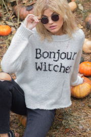 Wooden Ships Bonjour Witches Sweater - Side cropped