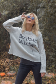 Wooden Ships Bonjour Witches Sweater - Front cropped