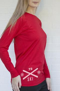Shoptiques Product: Merino Red Top