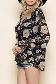 By Together Bonnie Floral Top - Product Mini Image