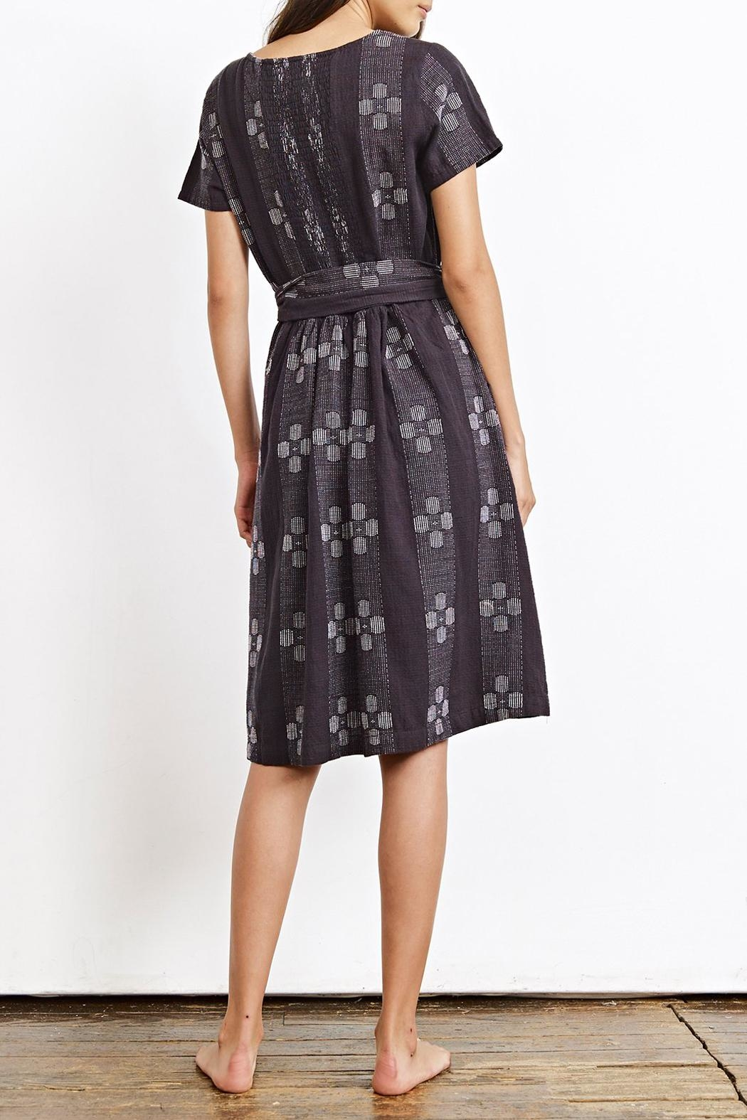 Ace & Jig Bonnie Licorice Dress - Front Full Image