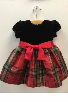 Bonnie Jean Holiday Tartan Dress - Alternate List Image