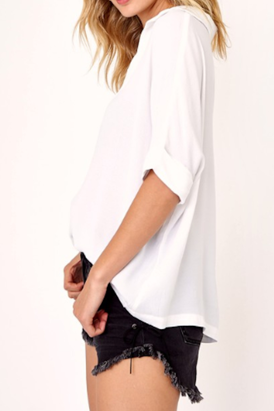 Olivaceous Bonny Relaxed Fit Blouse - Front Full Image