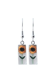 Light Years Collection Bonsai Sunflower Earrings - Product Mini Image