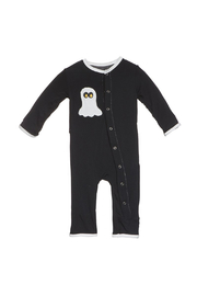 Kickee Pants BOO Applique Coverall - Front cropped
