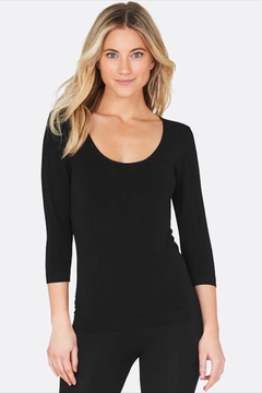 Boody Bamboo Scoop-Neck Top - Product List Image