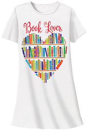 Patricia's Presents Book Lover Sleep Shirt - Product Mini Image