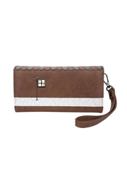 Vendula London Book-Shop Flap Wallet - Front full body