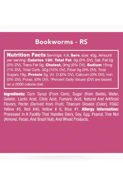 Candy Club Bookworms - Alternate List Image