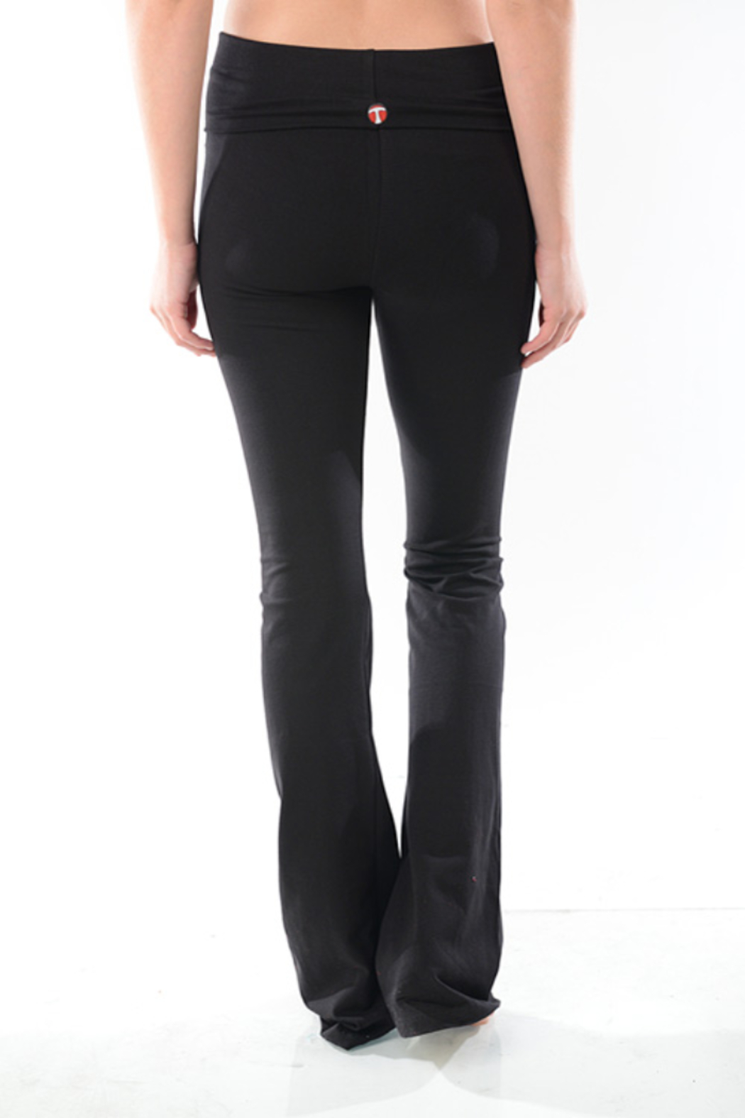 T-Party  Boot Cut Leggings - Front Full Image