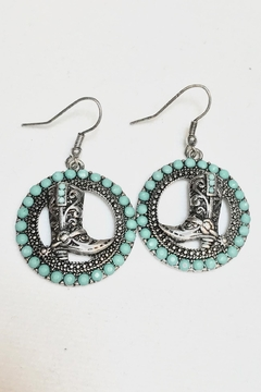 Shoptiques Product: Boot Western Earrings