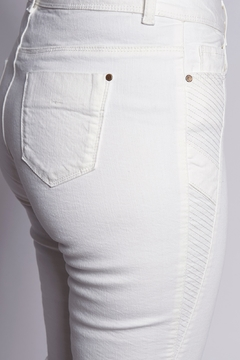 B&K moda Bootcut white pants jeans - Alternate List Image