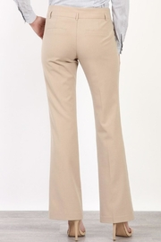 Mary Clan Bootcut Work Trousers - Side cropped