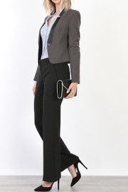Mary Clan Bootcut Work Trousers - Front cropped