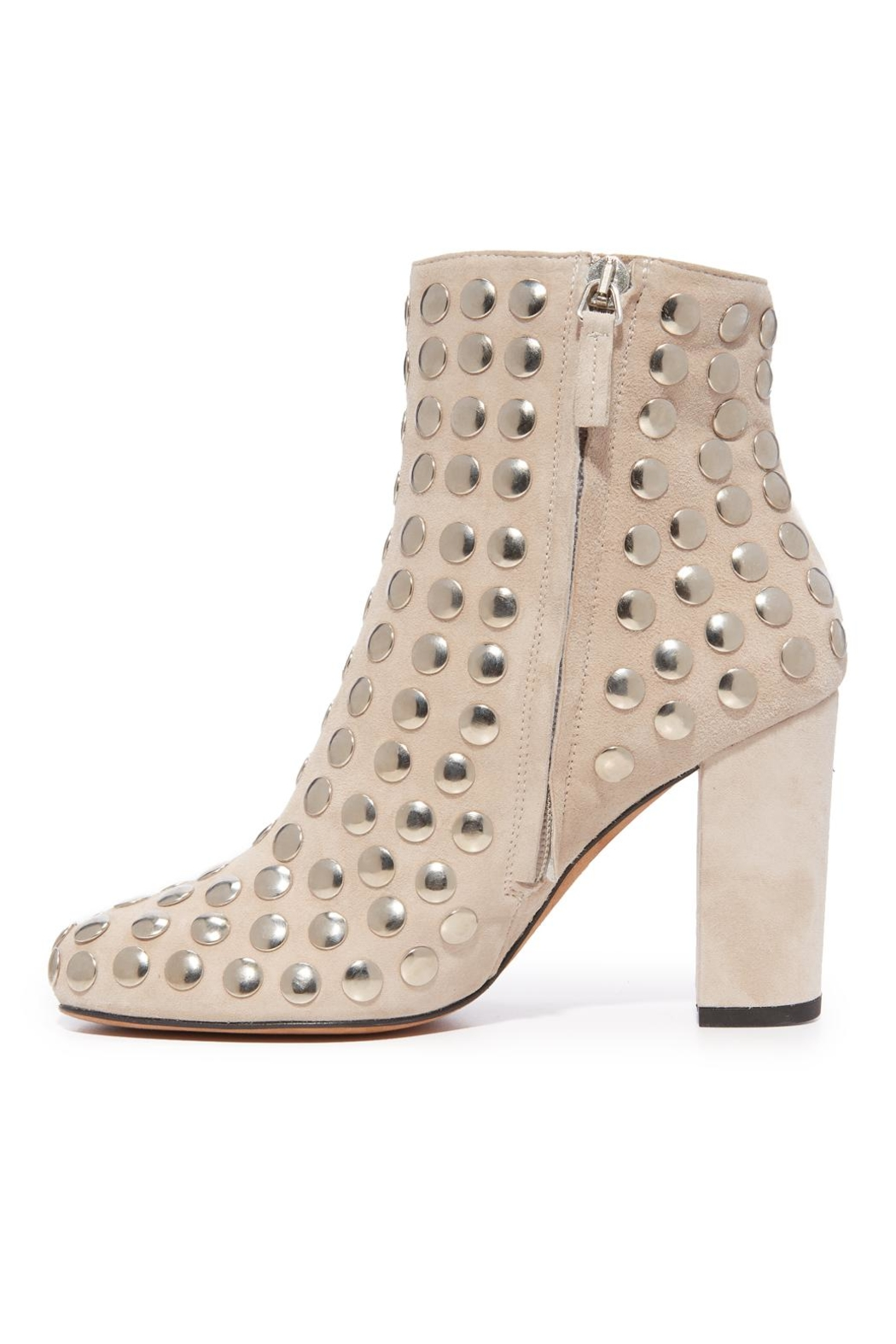 IRO Bootroky Studded Booties - Front Cropped Image