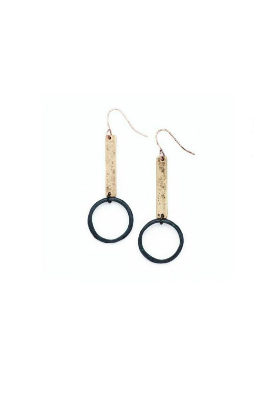 bops Bar And Hoop Earrings - Main Image