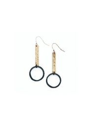 bops Bar And Hoop Earrings - Front cropped