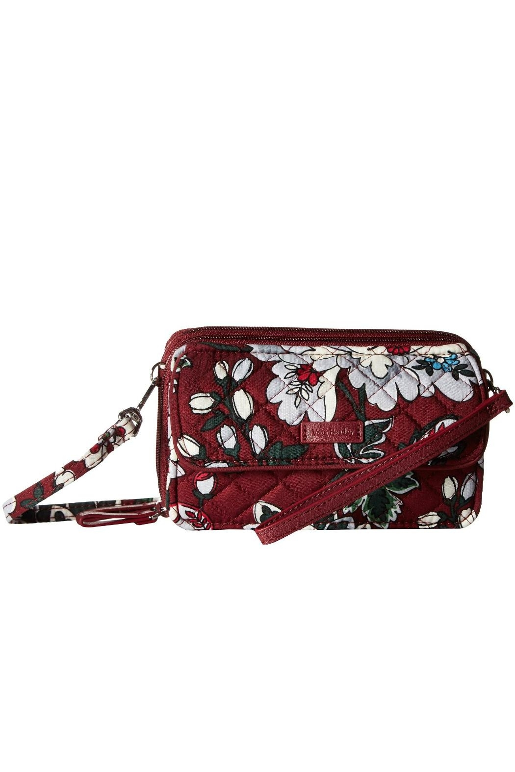 Vera Bradley Bordeaux Blooms All-In-One - Front Cropped Image