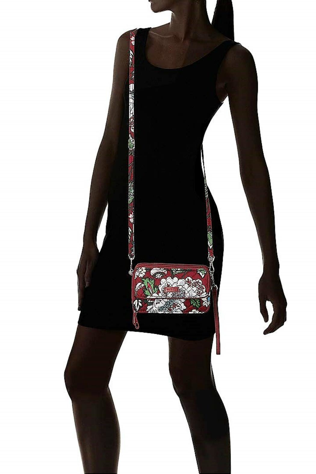 Vera Bradley Bordeaux Blooms All-In-One - Back Cropped Image