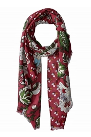Vera Bradley Bordeaux Blooms Scarf - Front cropped