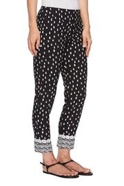Elliott Lauren Border Print Pant - Product Mini Image