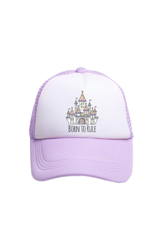 Tiny Trucker Born to Rule Trucker Hat - Product List Image